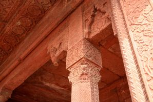 Fatehpur Sikri Detail of Pillar