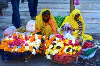 Jagdish Temple Udaipur Flower Sellers
