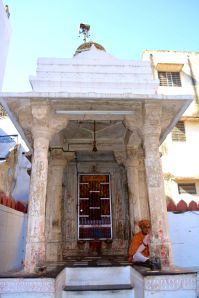Jagdish Temple Udaipur Shrine and Man