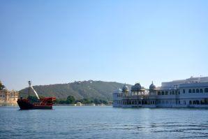 Lake Palace Udaipur Front