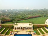 View of the Taj from the Presidential Suite at Oberoi Amarvilas