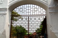 Paradesi Synagogue Gate Kochi