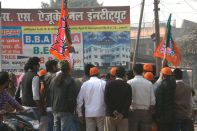 Political Rally Agra
