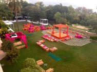 Event held in the garden
