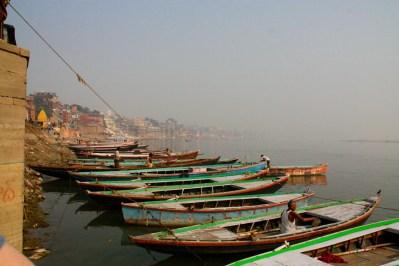 Varanasi Ghat Boats