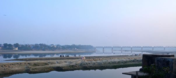 Yamuna river Agra