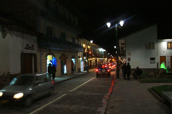 Shops and restaurants around the corner