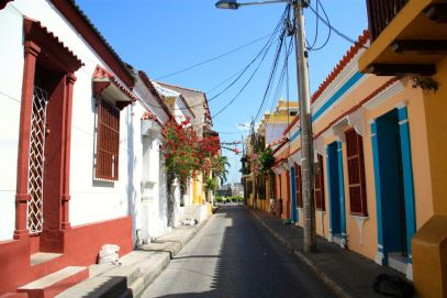 Cartagena Colonial Street 2