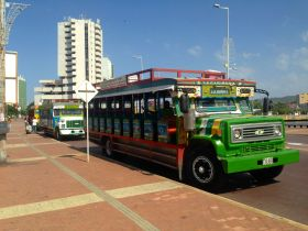 Cartagena Tour Bus