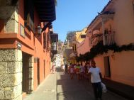 Colonial Street Cartagena