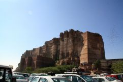 Mehrangarh Fort from Parking
