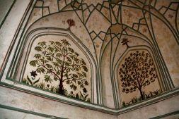 Red Fort Delhi Alcove Art
