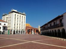 Square in Cartagena