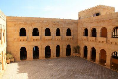 Suryagarh Inner Courtyard Activity area