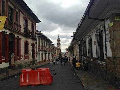 Bogota Plaza de Bolívar Street