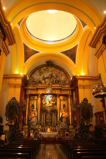 Cathedral of Lima Interior Altar