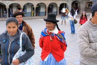 Cusco Peruvian Lady