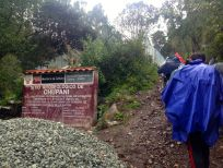 Lares Trek Chupani path