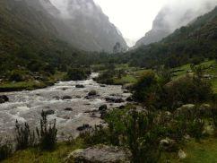 Lares Trek Day 1 River