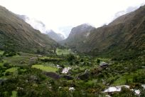 Lares Trek Day 1 Valley View