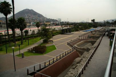Lima's old city walls