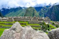 Machu Picchu Model Landscape
