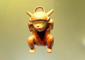 Museo del Oro Bogota Horn Idol