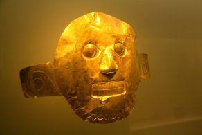Museo del Oro Bogota Mask