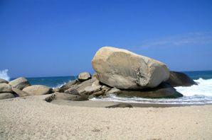 Park Tayrona Beach Rocks