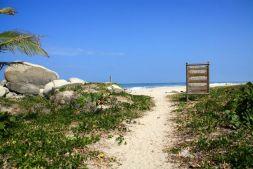 Park Tayrona Path to Beach