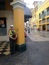 Plaza de Armas Police Woman