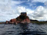 Titicaca Lake Island