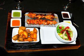 Uchu Peruvian Steakhouse Platter
