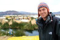 Uros Floating Islands David