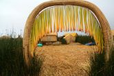 Uros Floating Islands Entrance