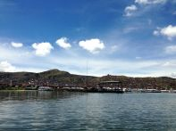 Uros Floating Islands Puno Port View