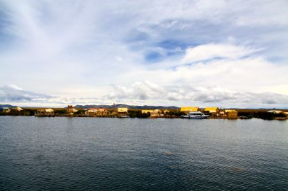 Uros Floating Islands View