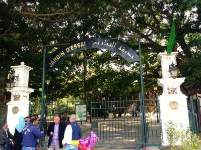 Algiers Le Jardin d'Essai du Hamma Entrance