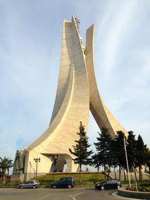 Algiers Monument des Martyrs Front