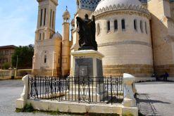 Algiers Notre Dame d'Afrique Statue
