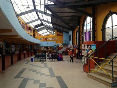 Chivay bus station