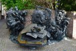 Dusseldorf Altstadt Sculpture