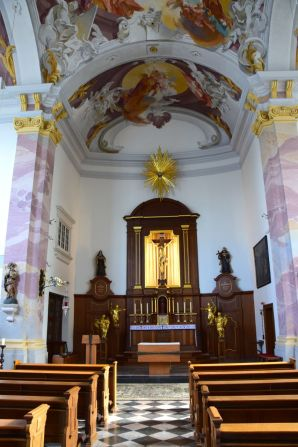 Dusseldorf Church Interior