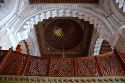 Hassan II Mosque Arch and Ceiling