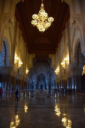 Hassan II Mosque Interior