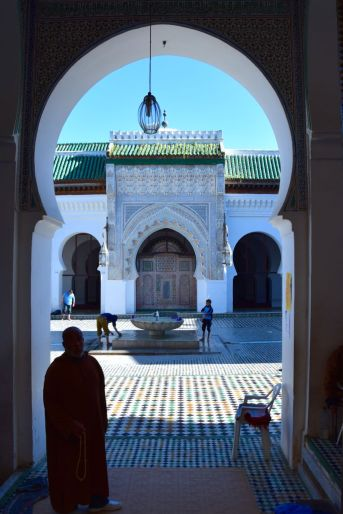 Karaouine Mosque and University Courtyard