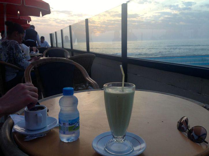 La Corniche Cafe Avocado drink