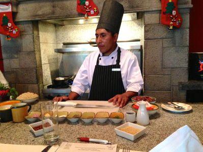 Las Casitas Del Colca Chef