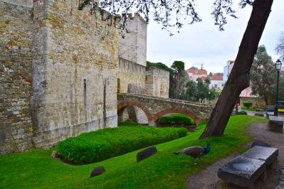 Lisbon Castelo de St Jorge Castle