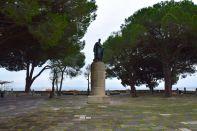 Lisbon Castelo de St Jorge Statue
